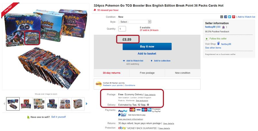 How to tell fake pokemon trading cards from real ones