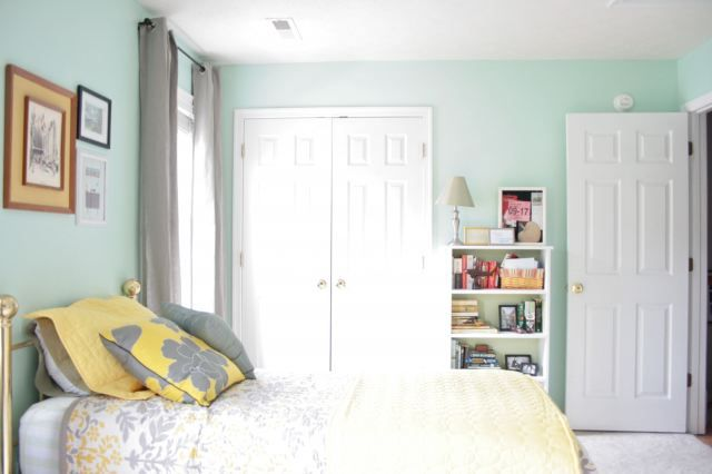 teal zeal gets icy mint bedroom paint colors girls on lowe s paint colors id=58759