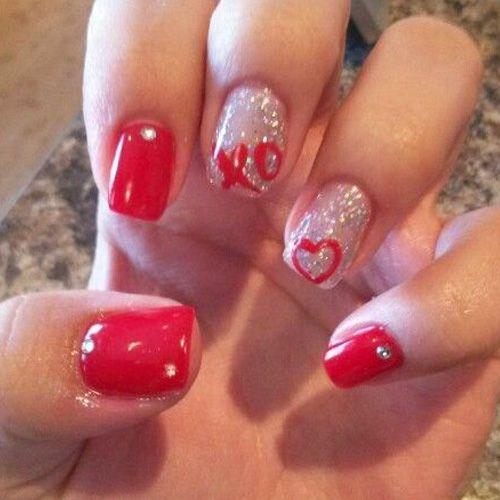 Best Valentine S Day Nails 48 Valentine S Day Nail Designs Nail