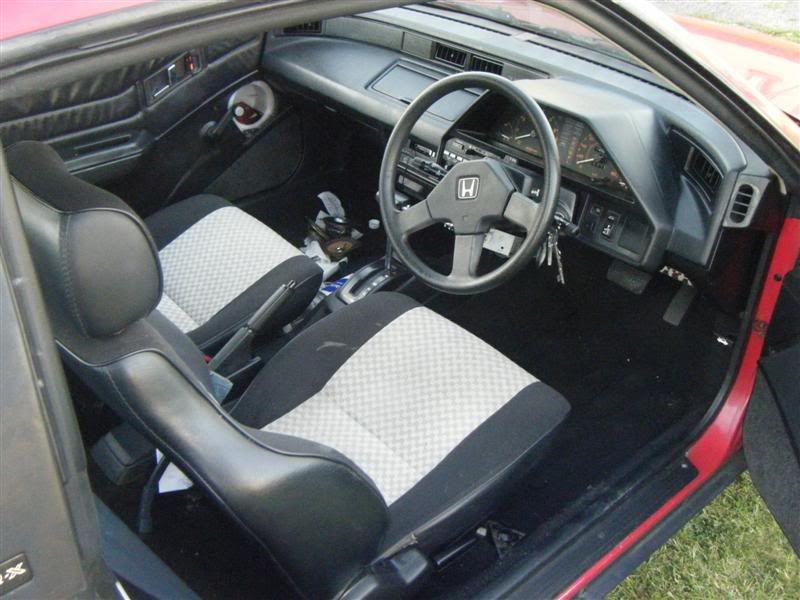 Honda crx automatic