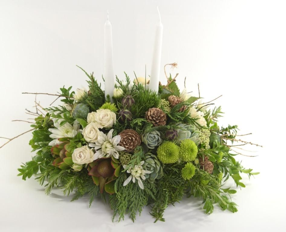 Florist Choice: Contemporary Christmas Centerpiece ...