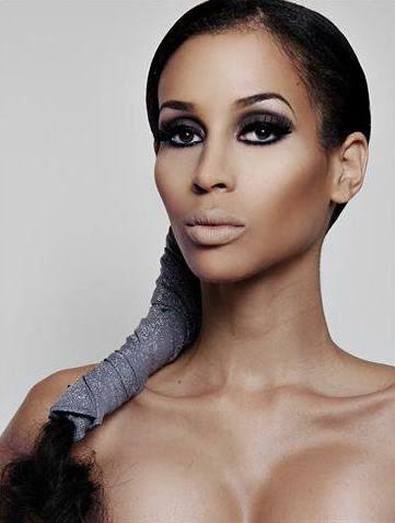 black woman Beautiful transgender