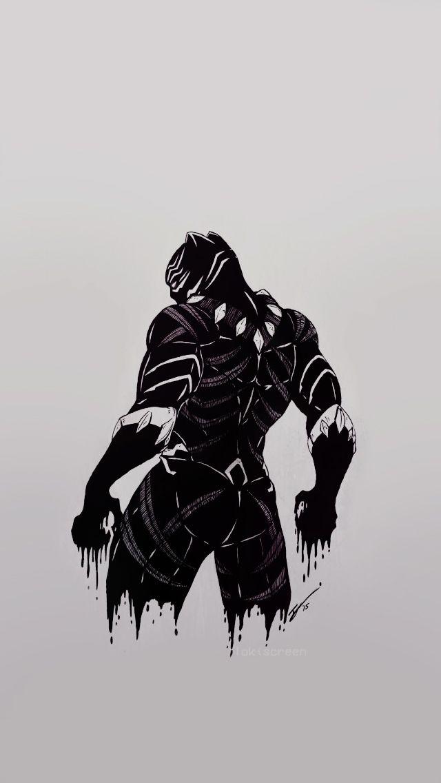 T'CHALLA/BLACK PANTHER (CAPTAIN AMERICA: CIVIL WAR // COMICS) - REQUESTED LOCKSCREENS, like or ...
