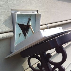 Mounting outdoor light to vinyl siding httpnawazshariffo mounting outdoor light to vinyl siding aloadofball Image collections