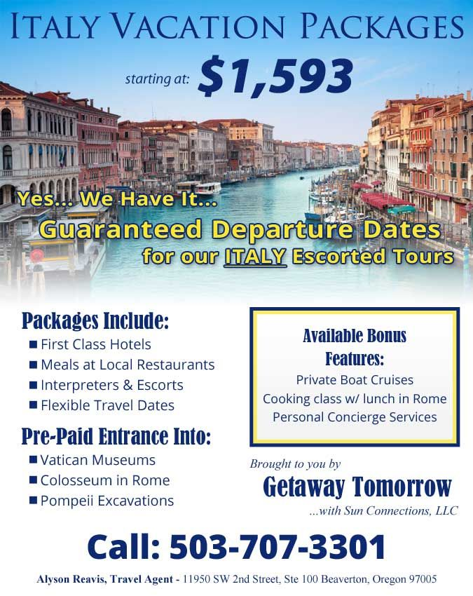 Awesome Vacation Packages Italy Vacation Packages Vacation Packages Italy Vacation