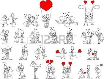 couple mari dessin photos de mariage de dessin anim. Black Bedroom Furniture Sets. Home Design Ideas