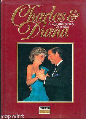 Princess Diana 10th Anniversary Photo Album Book Hardcover Ebay Anniversary Photo Album Photo Album Book 10 Anniversary