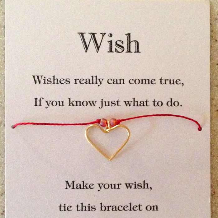 A Christmas Wish White /& Silver Star Message Card Tie on Wish Bracelet Gift Xmas