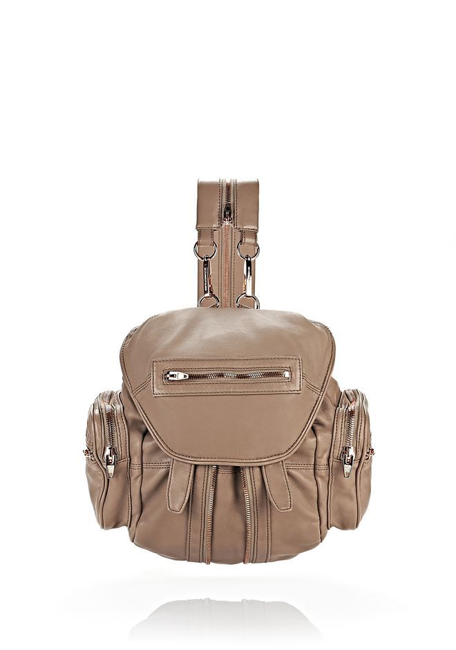 ALEXANDER WANG MARTI IN LATTE WITH ROSE GOLD ZAINO Adult 12_n_f