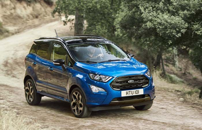 2019 Ford Ecosport Styling To Be Aggressive With Two Engine Options