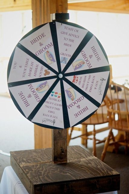 Kissing Spin Wheel Wedding 2017 Our