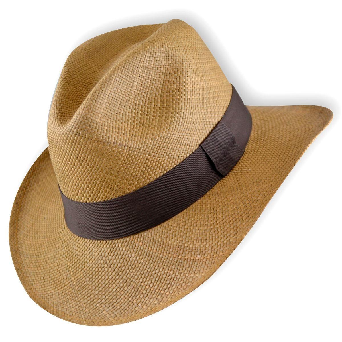 sombrero panamá de ecuador jipijapa para hombre  0353b62fc8d