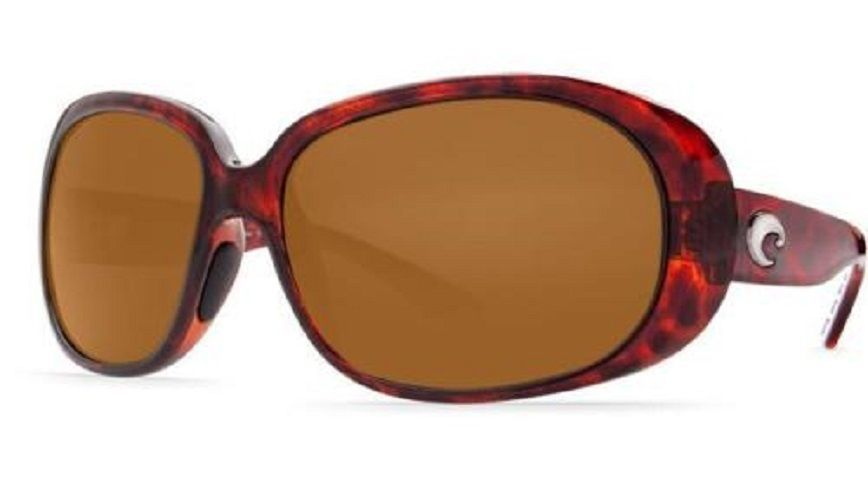 f3741ae8fa Costa Del Mar Hammock Polarized Women S Sunglasses Tortoise Amber 580P Hm  10 Oap