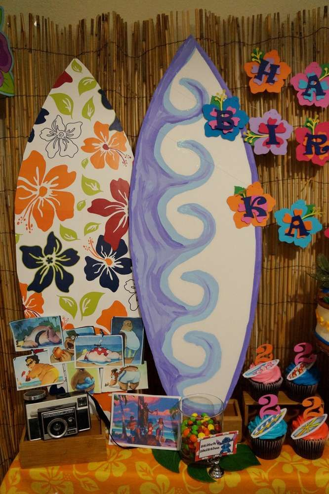 Lilo And Stitch Surfboard Art Projects