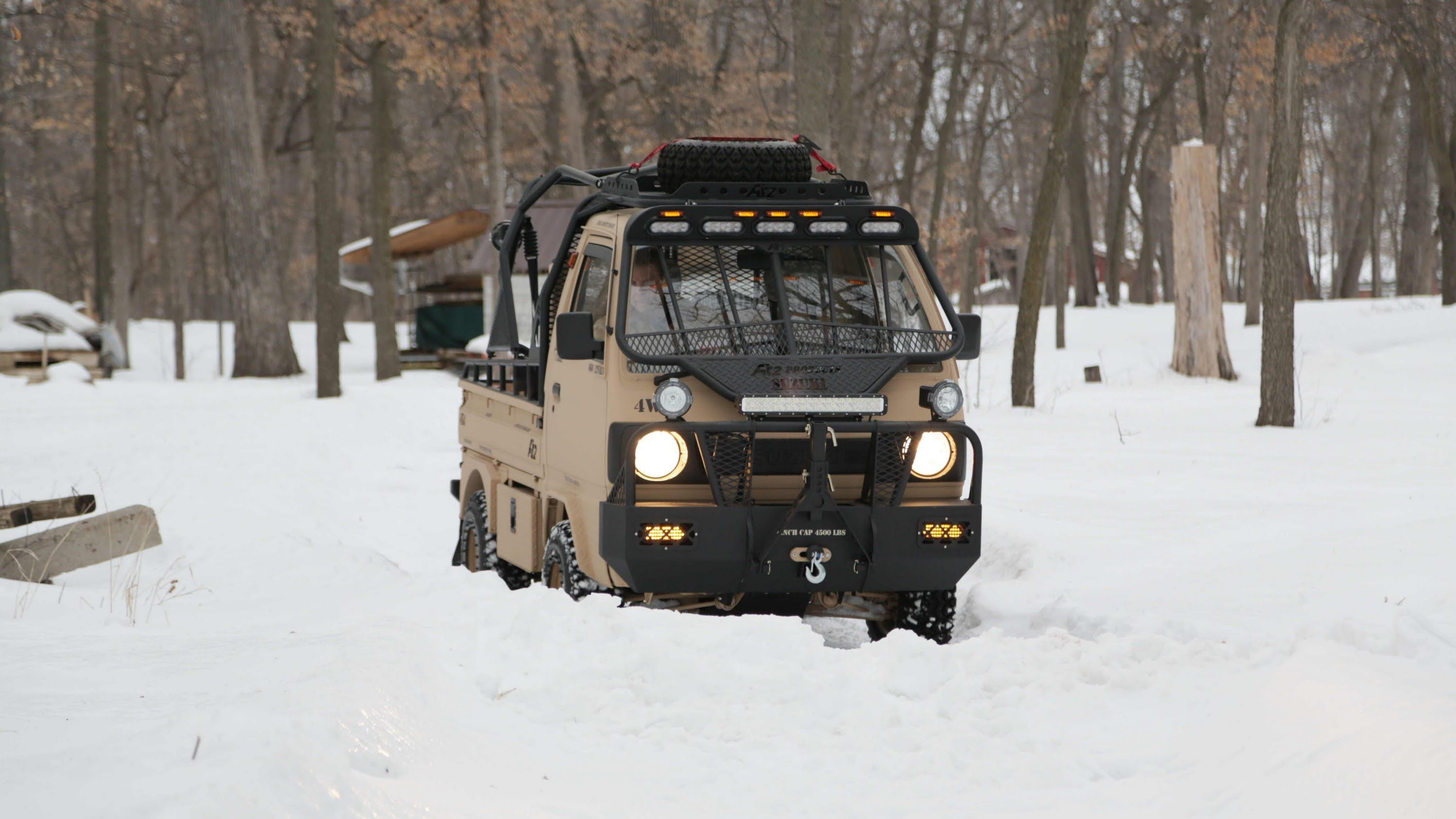 Canter truck sale double cabin 4wd japan import jpn car - Ai2 Products Ashwill Industries Suzuki Carry Off Road Adventure Vehicle