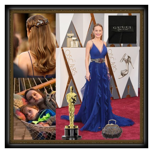 """Oscar Night 2016"" by mollygrant ❤ liked on Polyvore featuring Gucci"