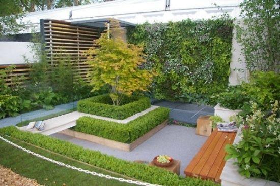 ideen kleinen garten wenig platz innenhof design Garten - kleine garten gestalten bilder