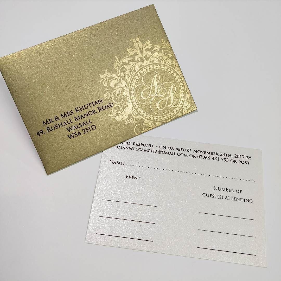Marching RSVP card. #weddingcards #weddinginvitation #wedding ...