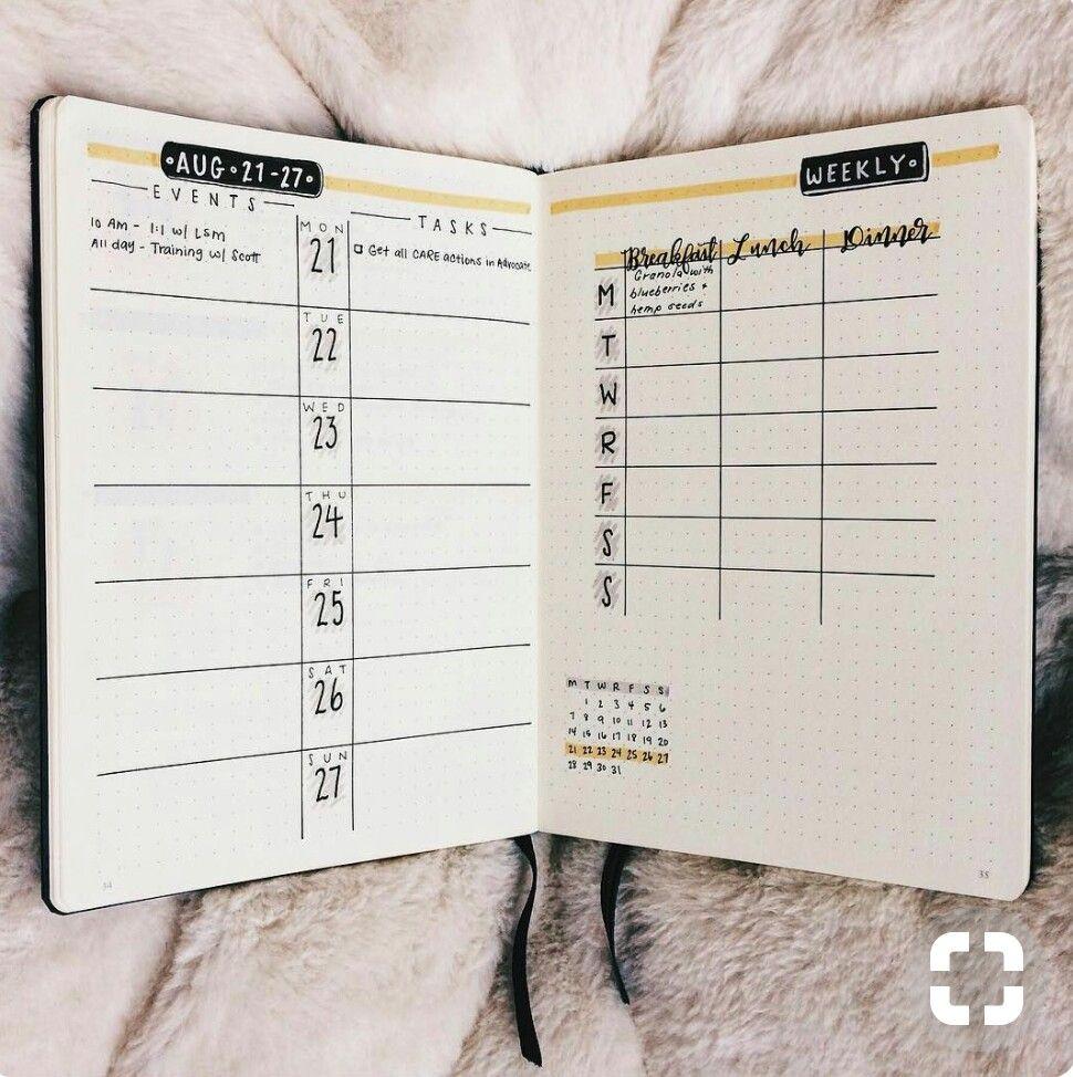 Calendario Semanal.