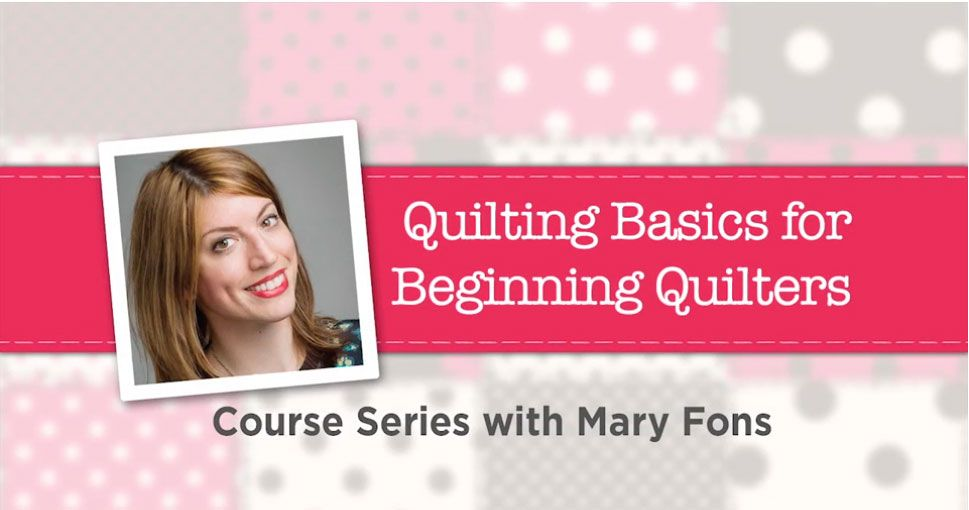 Quilting Just For Beginners http://www.sewnews.com/blogs/sewing/2016/05/24/quilting-just-for-beginners/