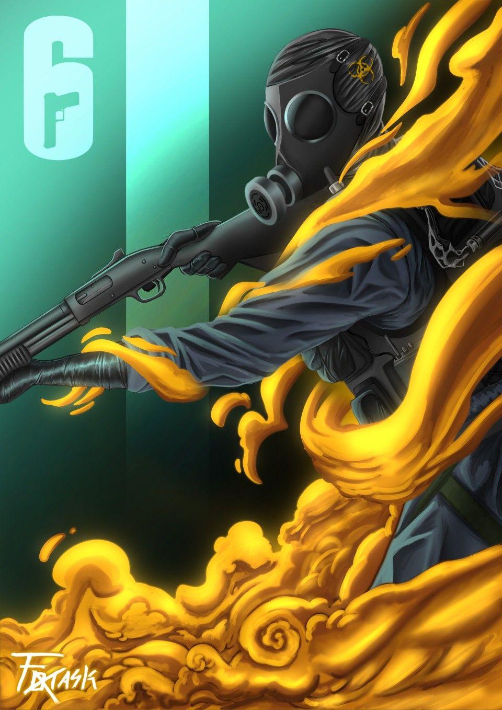 Pin by GREYWOLFJAXON 33 on Siege 6 Rainbow wallpaper