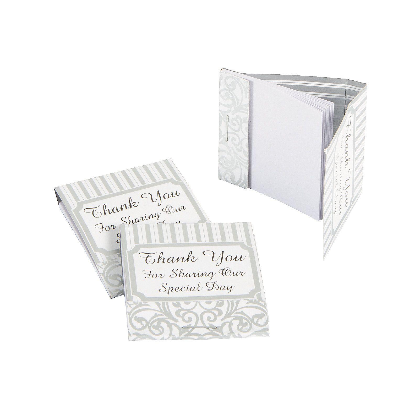 Silver Swirls Matchbook Notepads - OrientalTrading.com Ea .10 ...