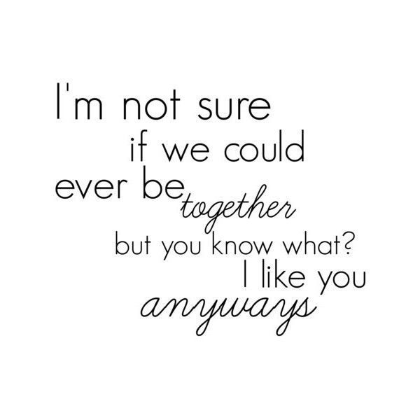 Cute quote for sydstrawberry  liked on Polyvore