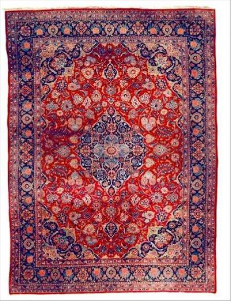 Find Examples Of Persian Kashan Rug Styles In This Oriental Guide With Pictures Learn More About Rugs Carpets