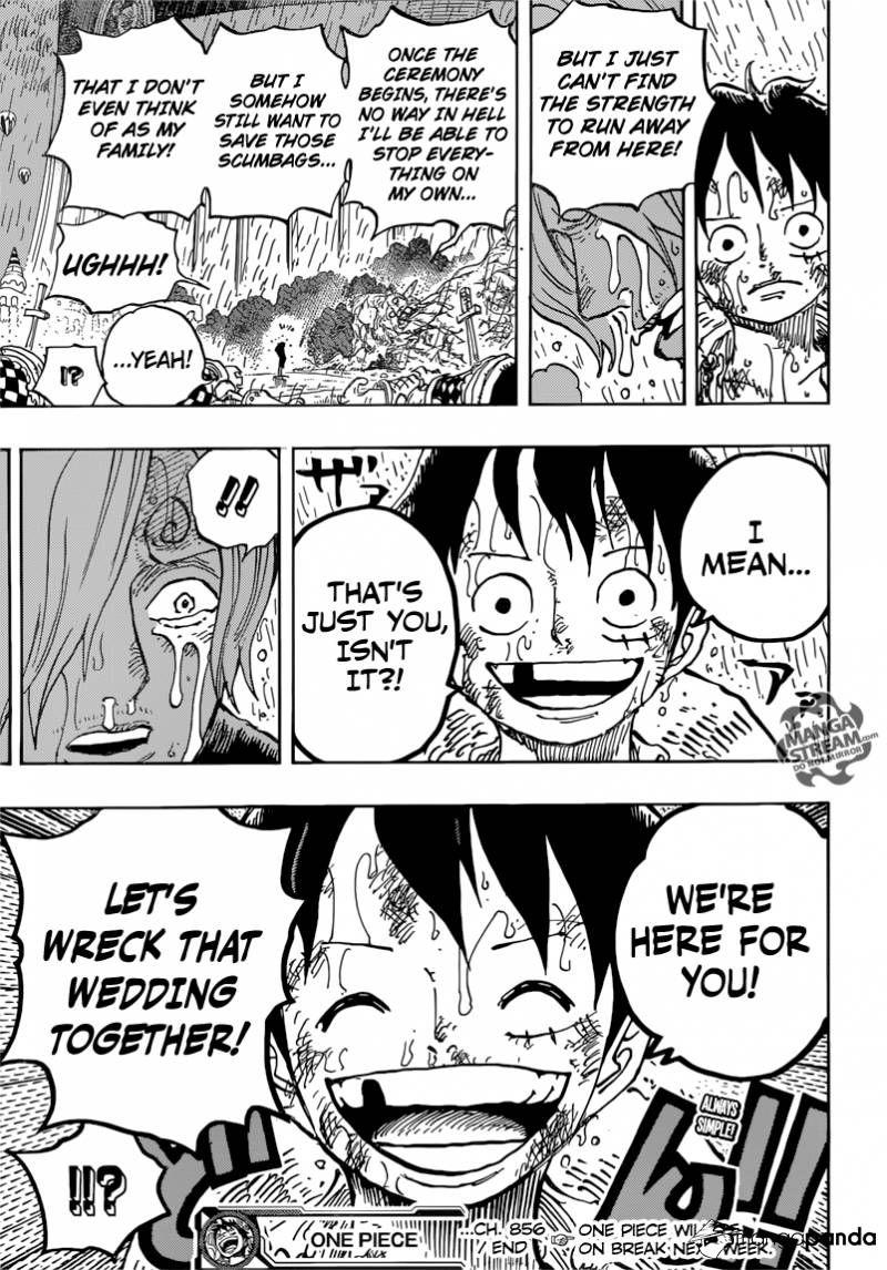 One Piece 856 Page 17 One piece comic