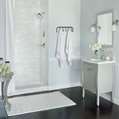 Swanstone Vanity Top And Shower Wall