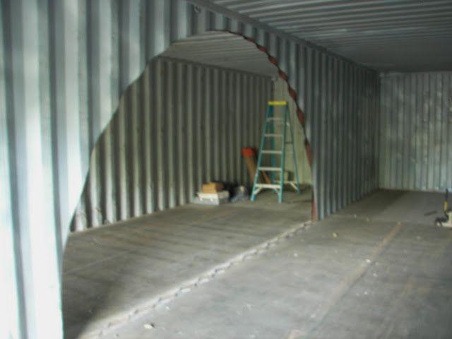 Abrir huecos en containers