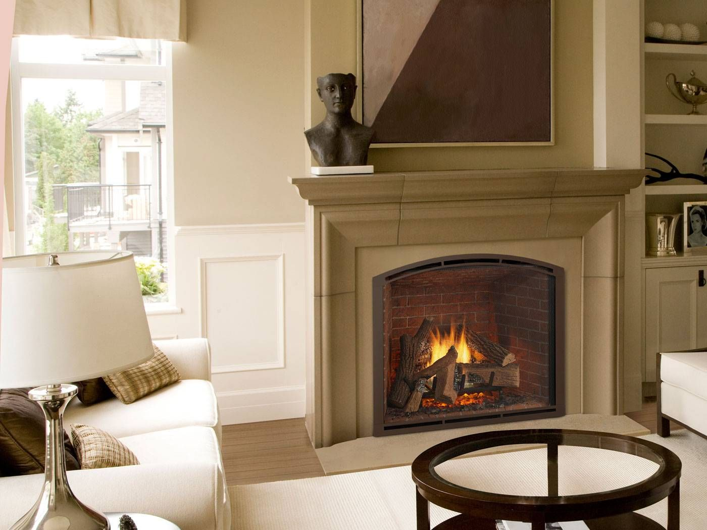 True Series Gas Fireplaces Indoor Gas Fireplace Fireside Hearth And Home Gas Fireplace