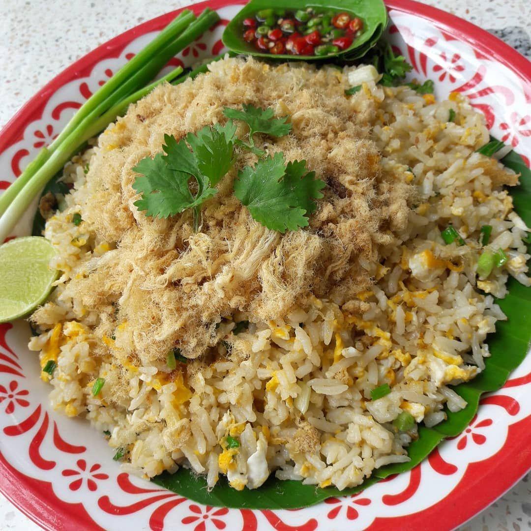 Fried Rice With Pork ข าวผ ดหม อาหาร ข าวผ ดก ง