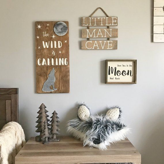 Amazing Nursery Decorating Ideas Baby Room Design For Chic Parent Renovation Best Home Ideas And Inspiration Wolf Nursery Camping Nursery Nursery Themes