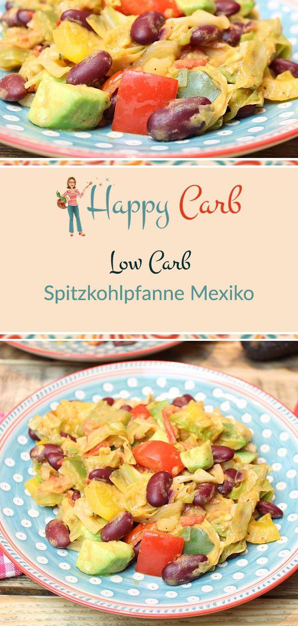 Spitzkohlpfanne Mexiko #lowcarbeating