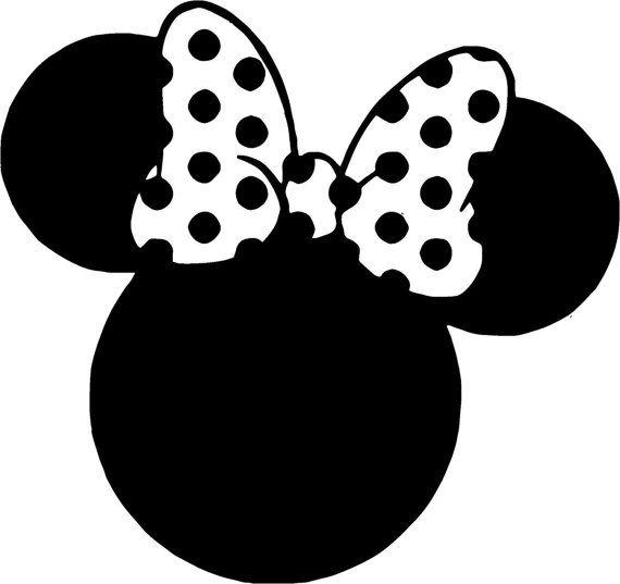 Peeking Mickey Eye Wink Minnie Mouse SVG Bow Head Ears Cricut Silhouette Disney Birthday Party Iron on transfer Decal Clipart