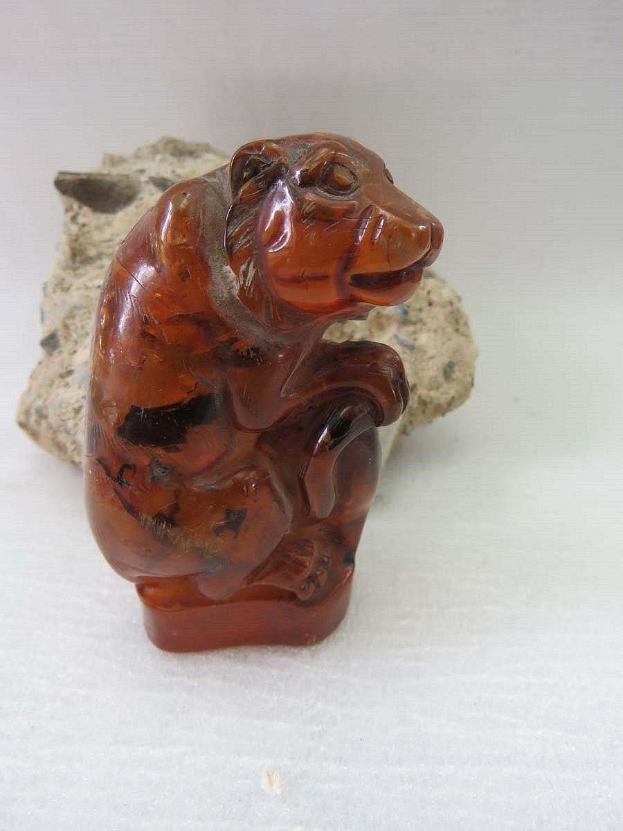 3. Vintage Large Carved AMBER TIGER STATUE figurine knick knack #knickknack 3.  Vintage Large Carved AMBER TIGER STATUE figurine knick knack by ALLmyCRYSTALS on Etsy #knickknack