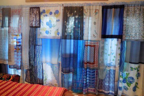 KIND OF BLUE böhmischen Zigeuner Vorhänge von BabylonSisters