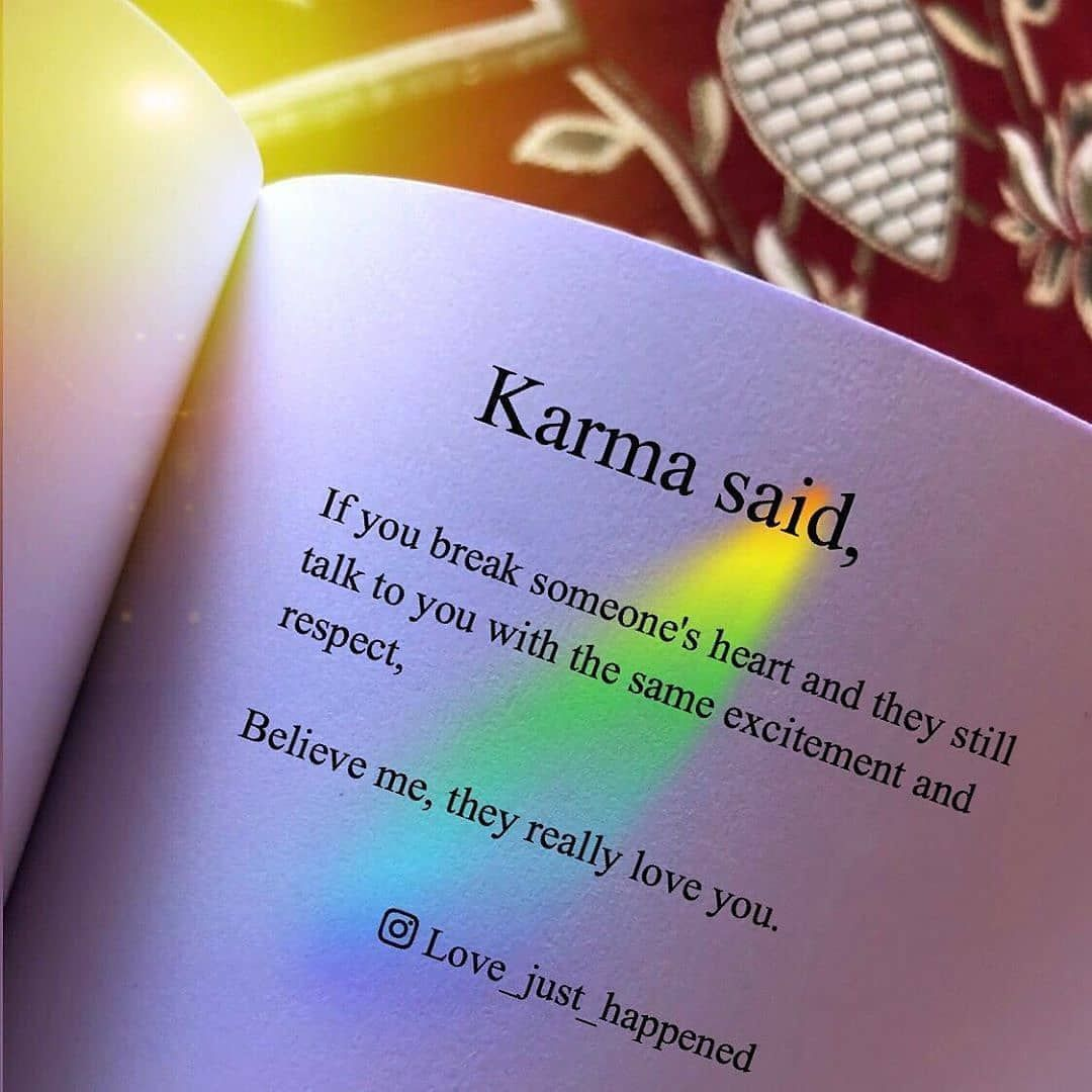 Karma Said life quotes quotes karma quotes quotes of the day