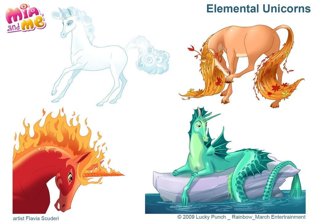 Elemental Unicorns