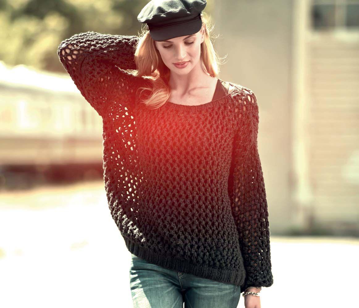 Журнал модные пуловеры