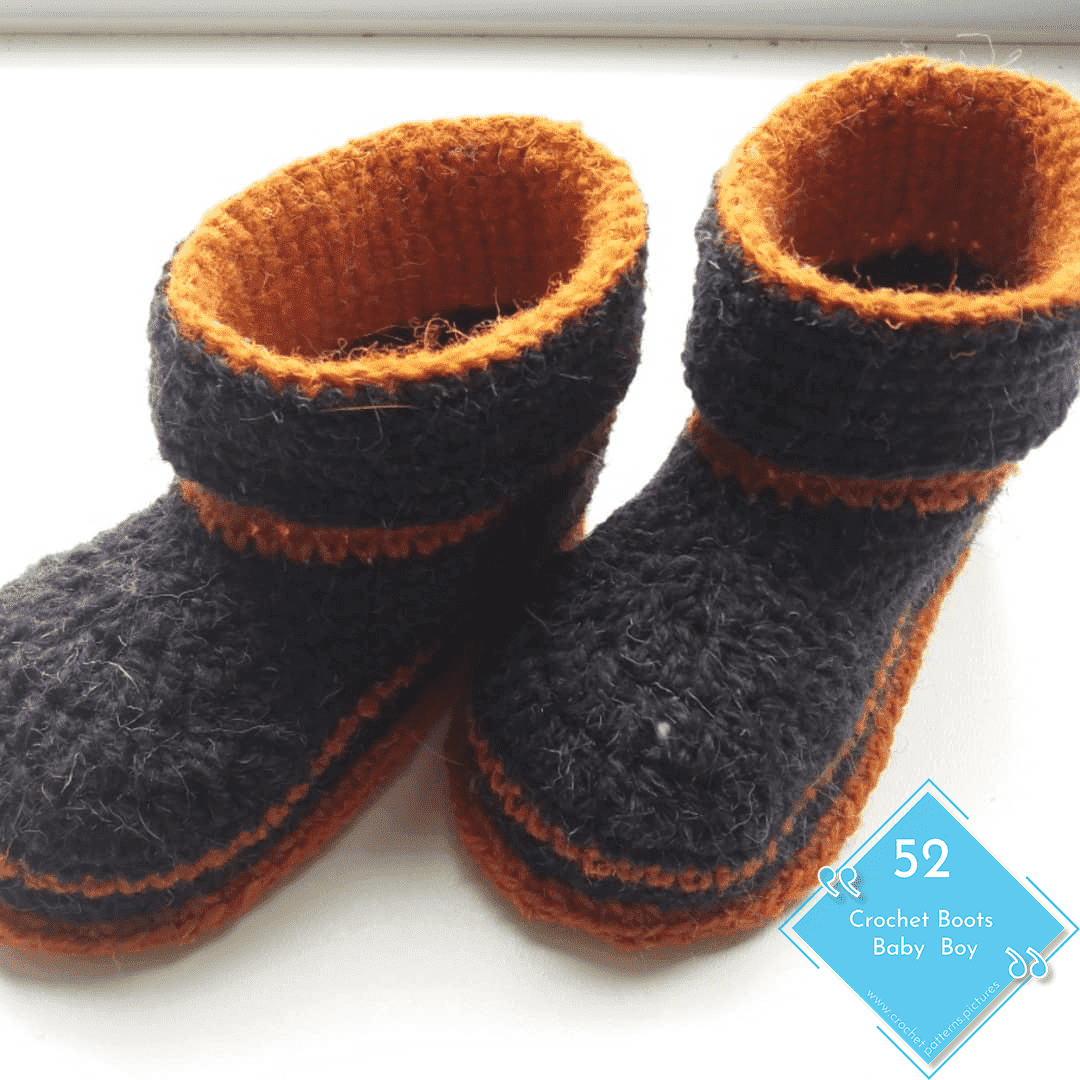 Photo of 52 Crochet Boots With Modern Patterns For Baby Boys. Advice Model: 30