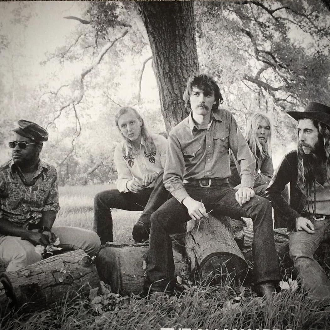 The Allman Brothers Band At The James Arness Ranch During The 1972 Eat A Peach Summer Tour Malibu Ca Augu Allman Brothers Allman Brothers Band James Arness