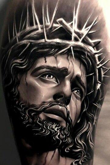 Pin By Jmcqcsp On Religiosos Jesus Tattoo Christ Tattoo Jesus Tattoo Design