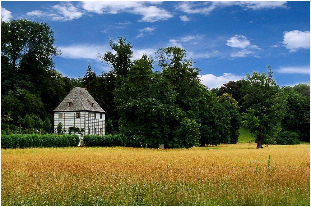 Goethe Gartenhaus Ilmpark Weimar weimar Pinterest - design klassiker ferienwohnungen weimar
