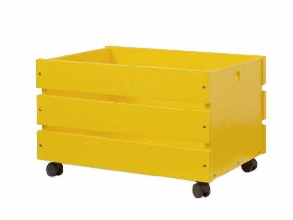 Caixote Camarada Grande Amarelo Canario Caixas Para Guardar