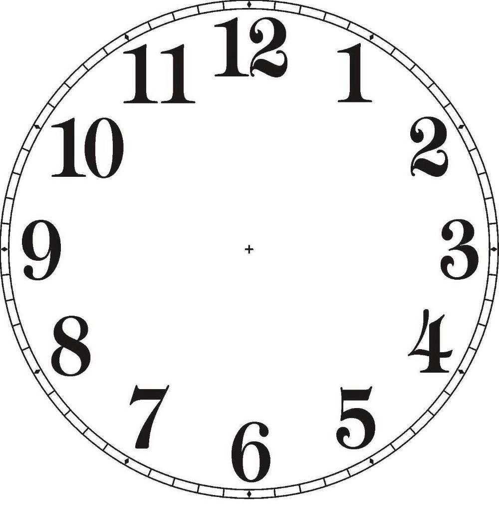 relojes sin manecillas - Búsqueda de Google in 2020 | Clock face printable,  Clock face, Clock template