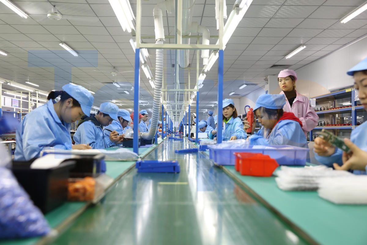 Telpo Factory in China, POS terminal manufacturer, POS