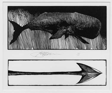 Barry moser wood cut moby dick