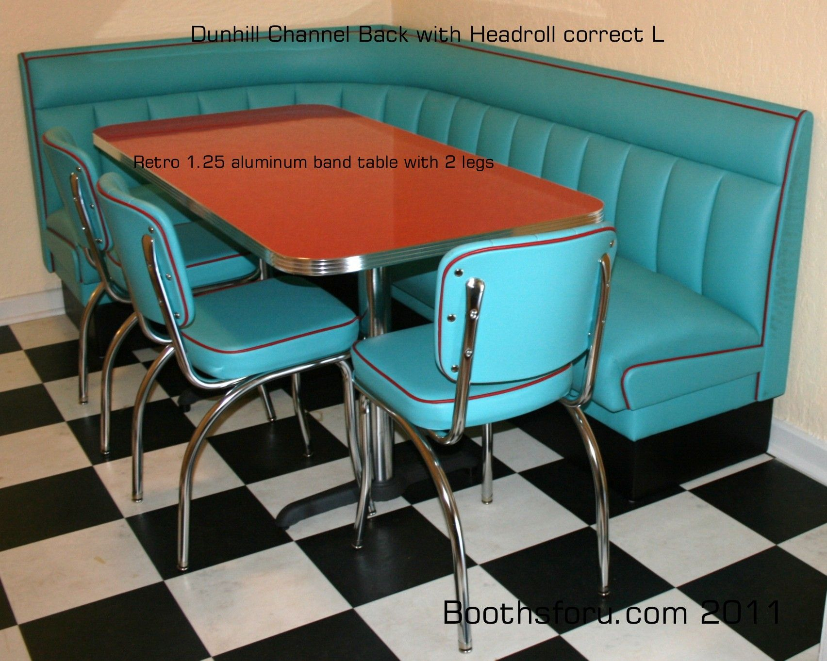 Retro Diner Booths | booths and banquettes for residence bars ...